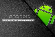 how to setup vpn on Andriod