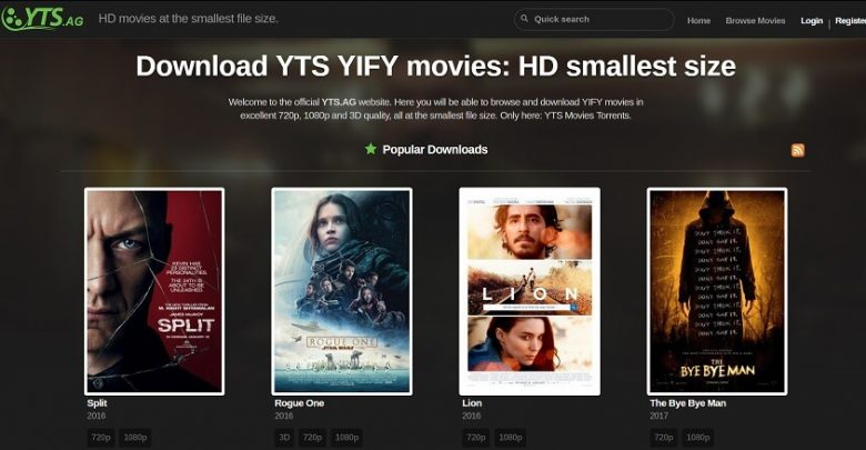 YIFY Proxy List of YTS Proxy and Mirror Sites Alternatives